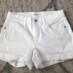 Old Navy shorts white size 2